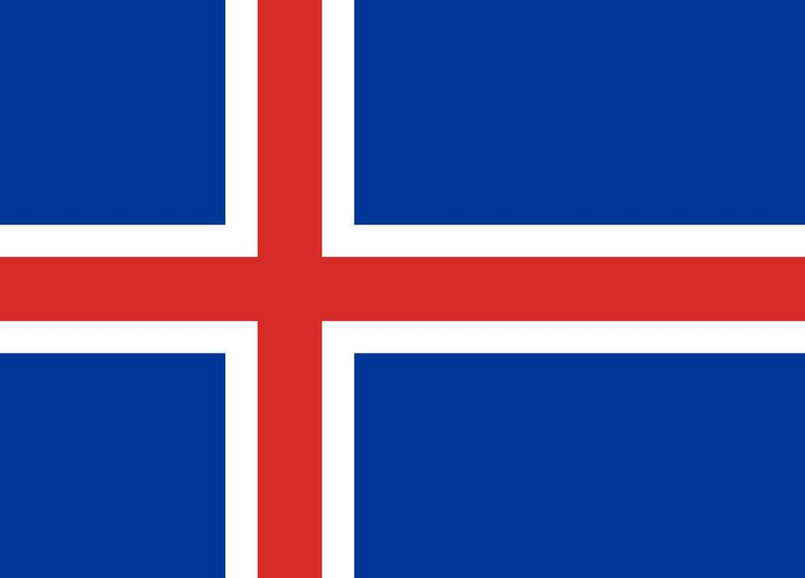 Iceland Flag➕More Pins Like This At FOSTERGINGER @ Pinterest✖️