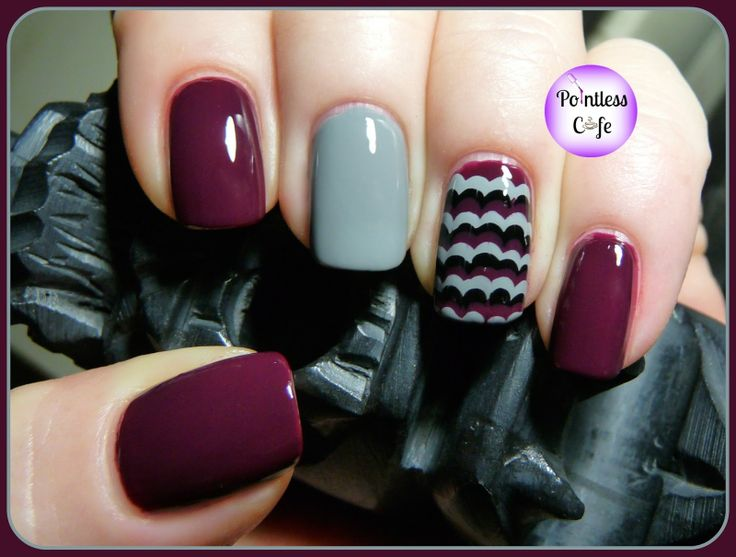 GOT Polish? Golden Oldie Thursday: Ruffle Mani | Pointless Cafe