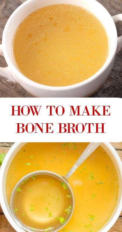 How to Make Bone Broth - Savory Lotus