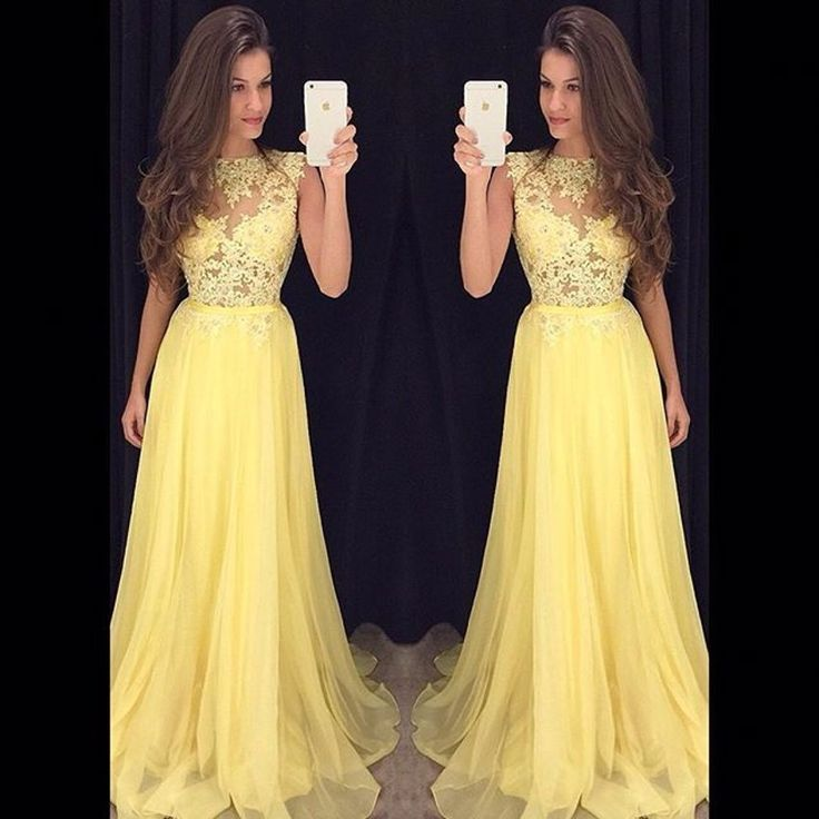 Best 10  Yellow prom dresses ideas on Pinterest | Prom colors ...