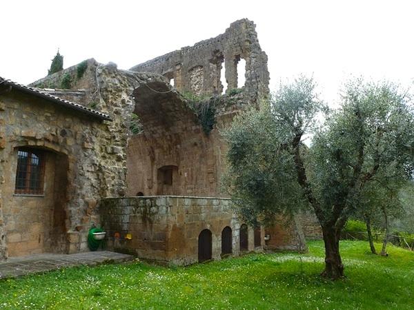 La Badia resturant in Orvieto Italy