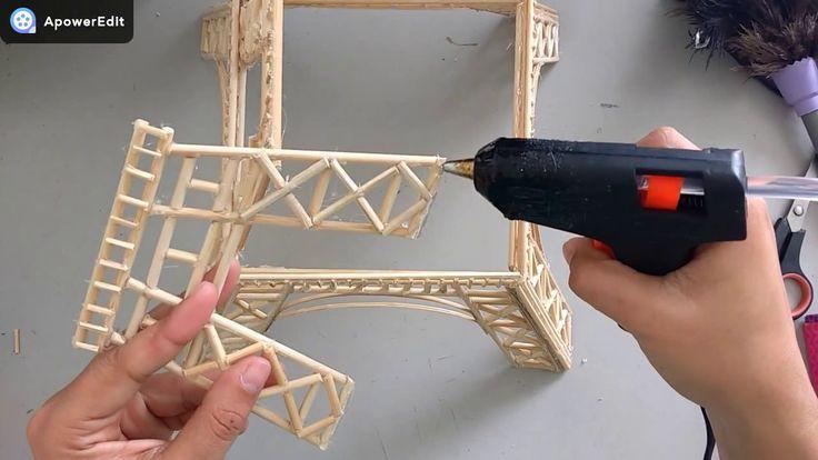 DIY Torre Eiffel decorativa   ElianayCabral