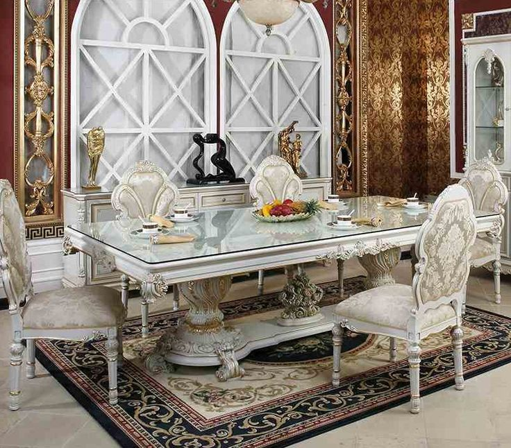 High Quality Tempered Glass Square Dining Room Table
