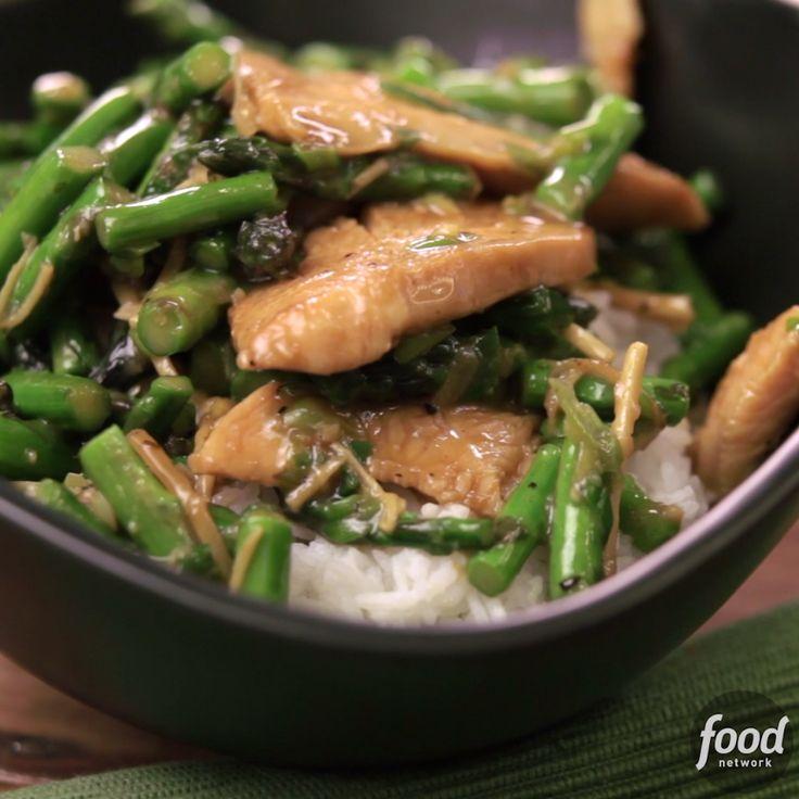Asparagus & Chicken Stir-Fry