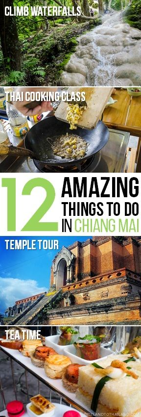 There's something for everyone in Chiang Mai, Thailand  |  tielandtothailand.com