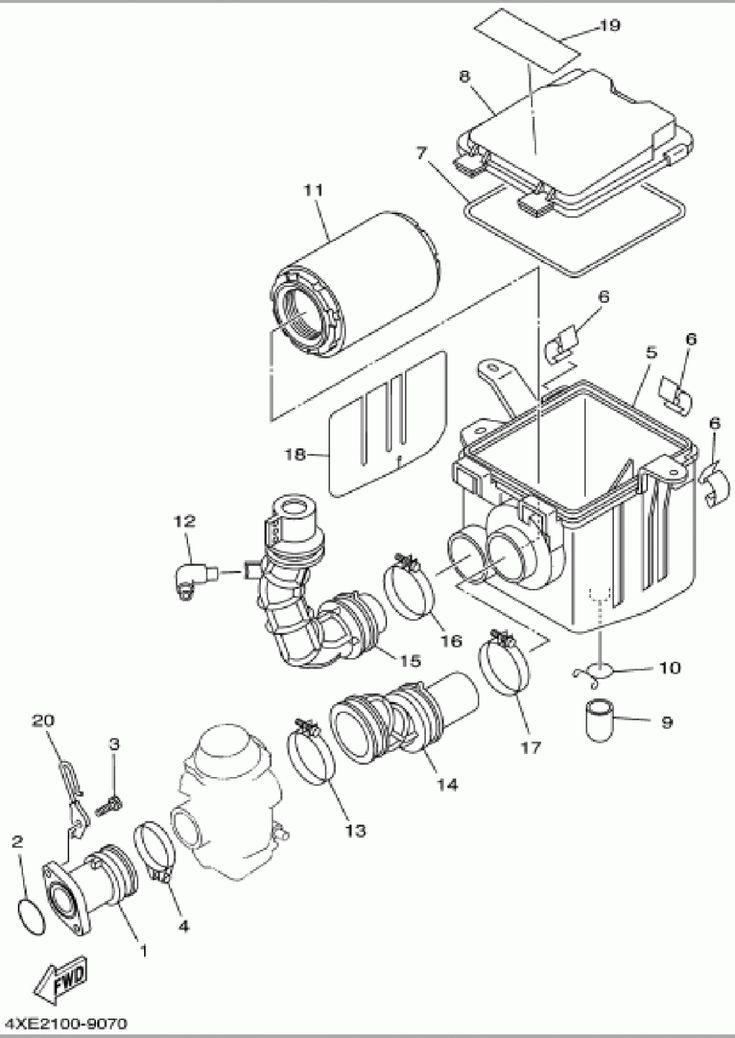 Yamaha Bear Tracker Engine Diagram