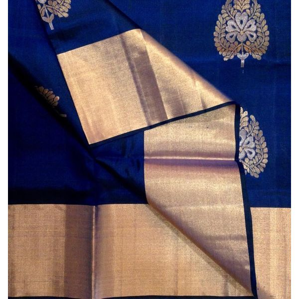 Buy KSS4000001-THAMBOORI's Handwoven Soft Kanchivaram Silk-Deep Blue wine pink, 850g online - Handwoven Kanchivarams,Soft Silks, Silk Cottons and Tussars!