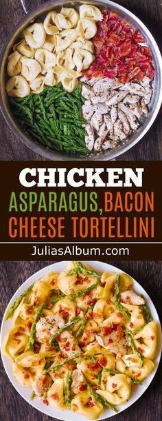 Creamy Tortellini wi Creamy Tortellini with Asparagus Chicken...   Creamy Tortellini wi Creamy Tortellini with Asparagus Chicken Bacon #dinner #pasta http://ift.tt/2AbEMpP Recipe : http://ift.tt/1hGiZgA And @ItsNutella  http://ift.tt/2v8iUYW