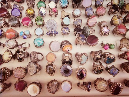 Vintage jewelry i would have fun with all of these