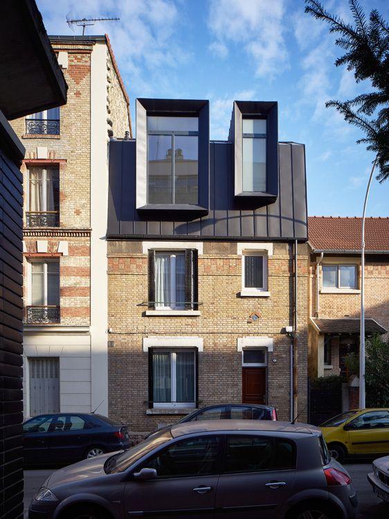 17 best ideas about roof design on pinterest pavilion for Extension maison urbanisme