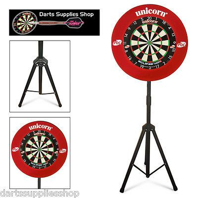 Flights 72578: The Darts Caddy, Dartboard Stand With Unicorn Eclipse Hd2 And Striker Surround -> BUY IT NOW ONLY: $134.95 on eBay!
