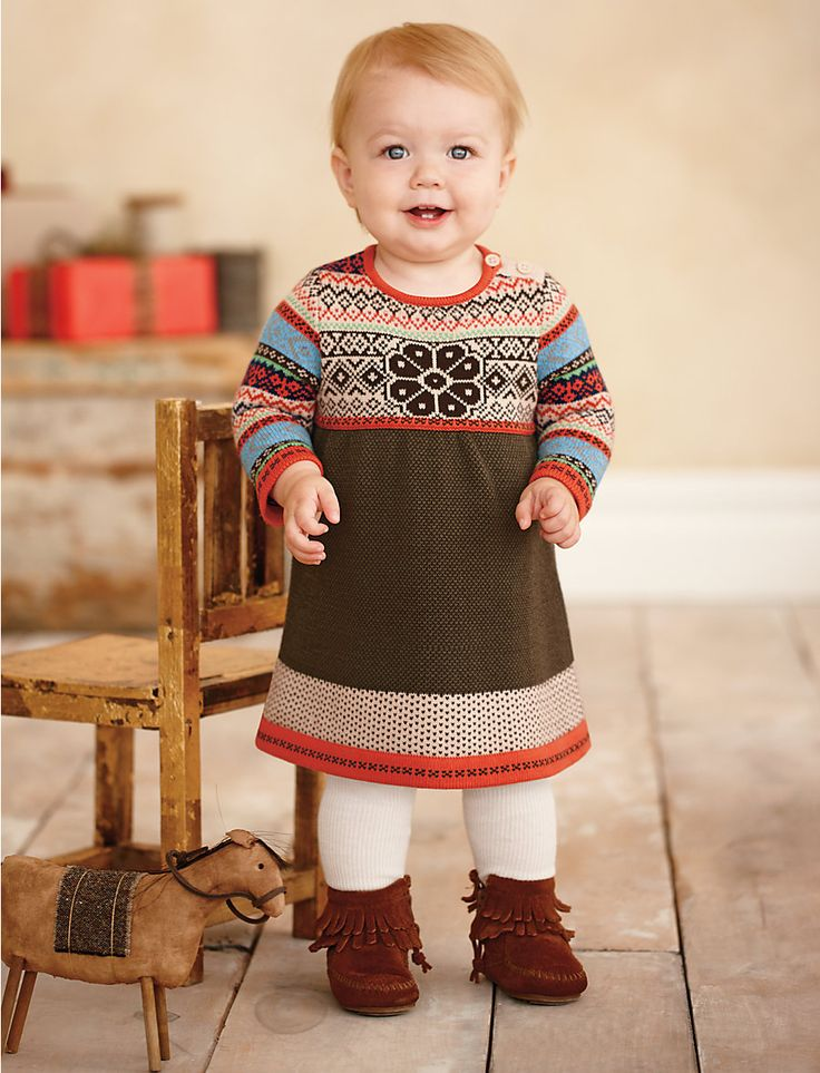 "Perfect autumn outfit. ""Storyteller sweater dress"" & ""Minnetonka double fringe b"