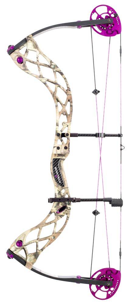 Bowtech Carbon Rose in camo. I'd take a carbon rose over a bouquet any day. :-)