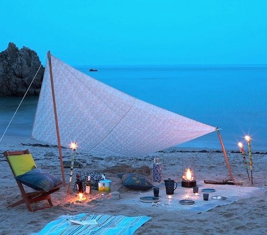 Beach Picnic – Beach Bliss Living - Decorating and Lifestyle Blog