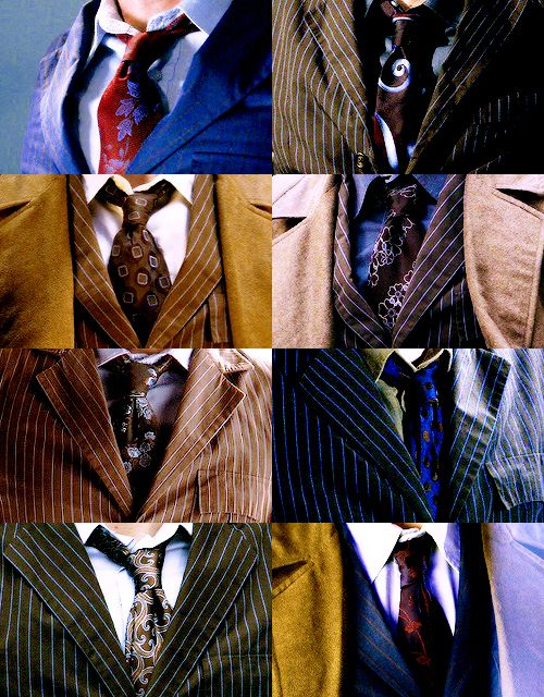 Suit and tie appreciation, and is it just me or does two of his ties have what it looks like rose pattern to them????