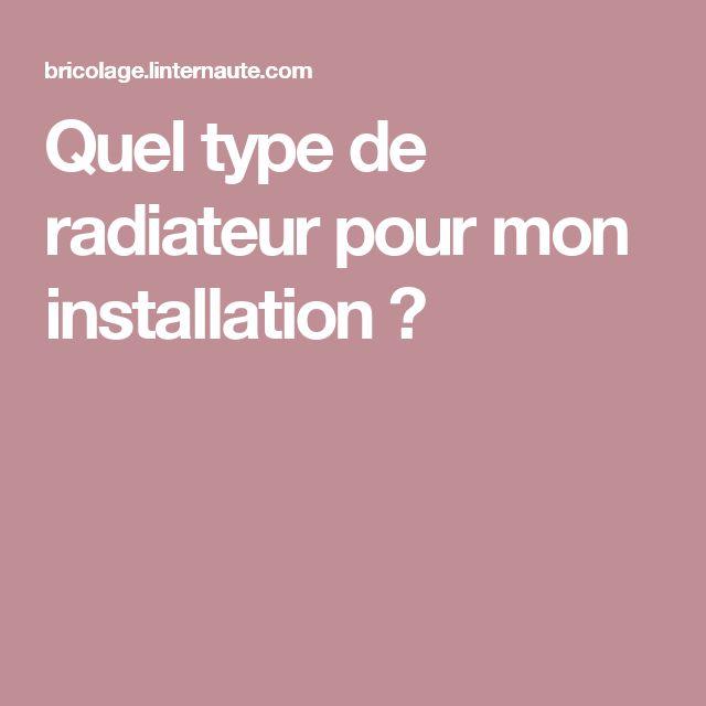 1000 id es sur le th me radiateur chauffage central sur pinterest radiateur - Quel radiateur pour quelle surface ...