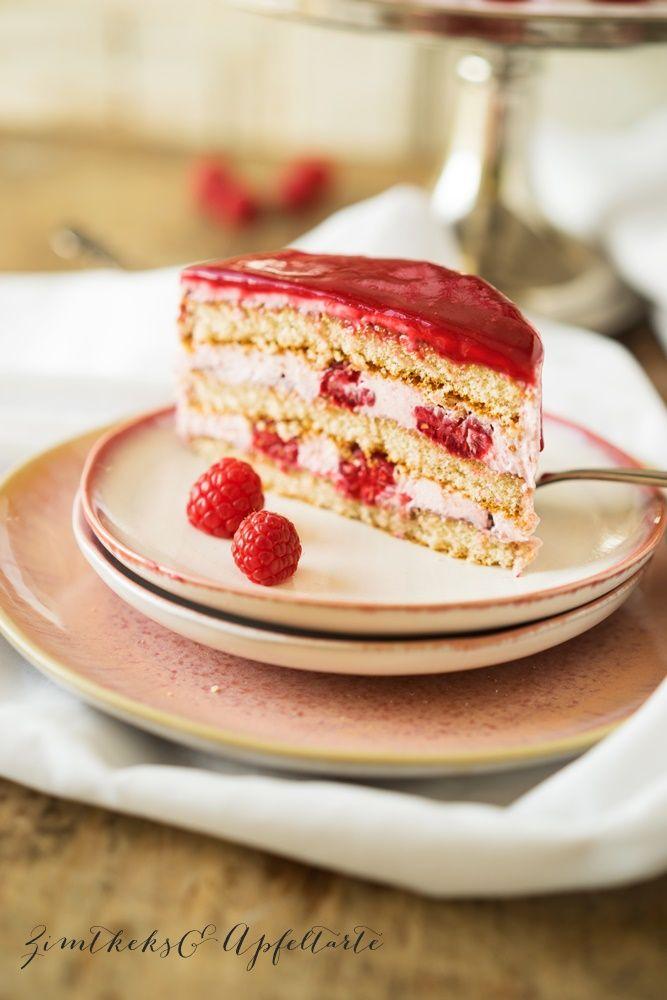 Himbeer Frischkase Mascarpone Torte Rezept Herzhafte Kuchen