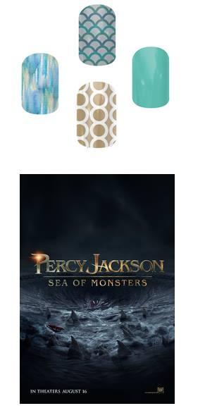 Jamberry- Percy Jackson