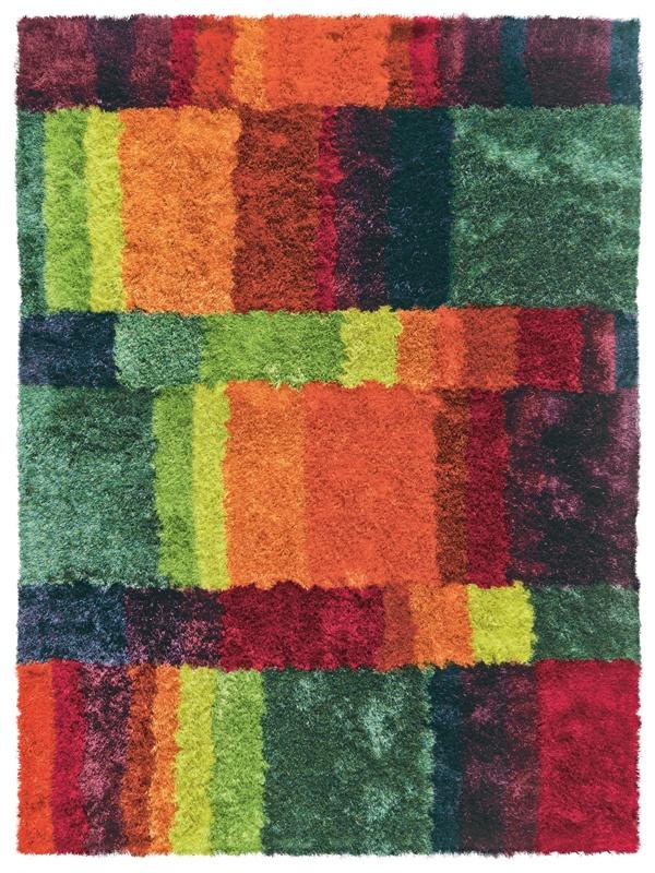 shaggy teppich arte espina funky multicolor shaggy rug. Black Bedroom Furniture Sets. Home Design Ideas