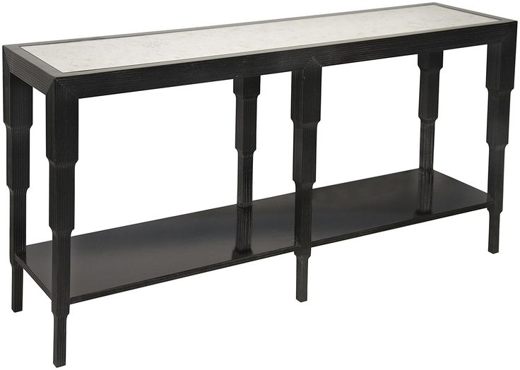 The Distressed Black Arta Console By Noir Emphasizes Natural, Simple And  Classic Design. Noir Has Been Designing, Building And Importing A Very  Unique, ...