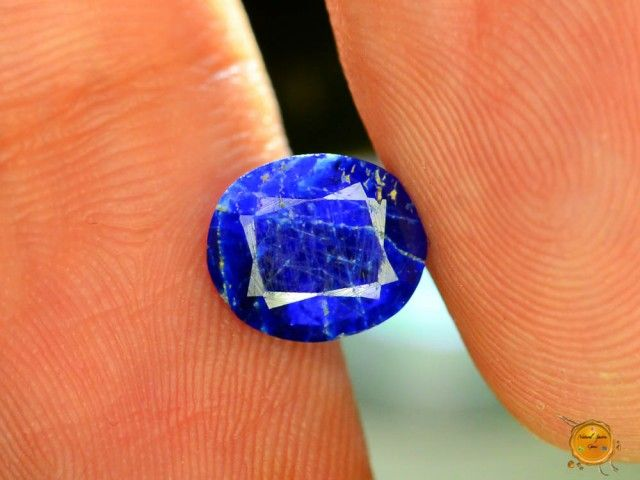 Rare 0.855 ct Natural Electric Blue Hauyne L.8 Collector's Gem
