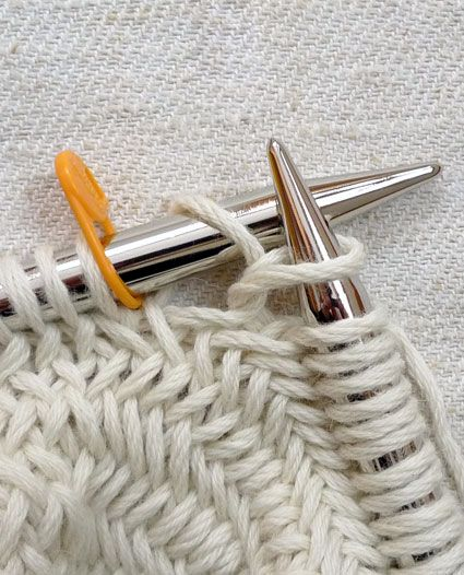 Knitting the Herringbone stitch knit & crochet Pinterest