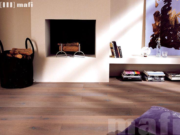 Timber Floors | Oak Country Vulcano | Brushed White Oil | mafi