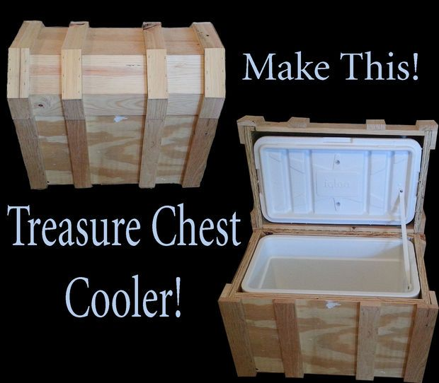 Treasure Chest Cooler Plans Woodworking Projects Amp Plans