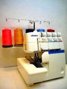 Оверлок (Коверлок) Juki MO 735 D обучение : Обучение швейной технике.