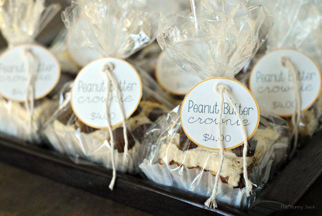Bake Sale Ideas - I like the packaging ideas