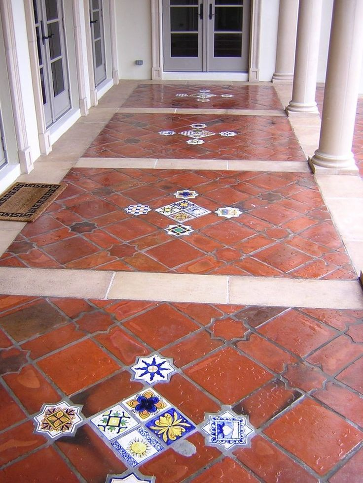 25 best terracotta floor ideas on pinterest terracotta for Spanish style floor tiles