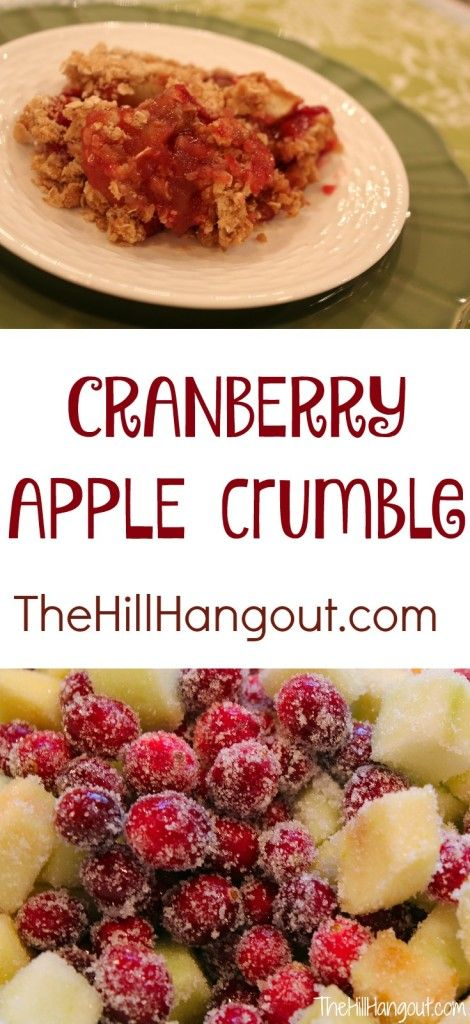 37 best fruity and fabulous images on pinterest desert recipes cranberry apple crumble from thehillhangout this is a perfect recipe for thanksgiving or southern dessertssouthern recipessouthern foodrecipes forumfinder Choice Image