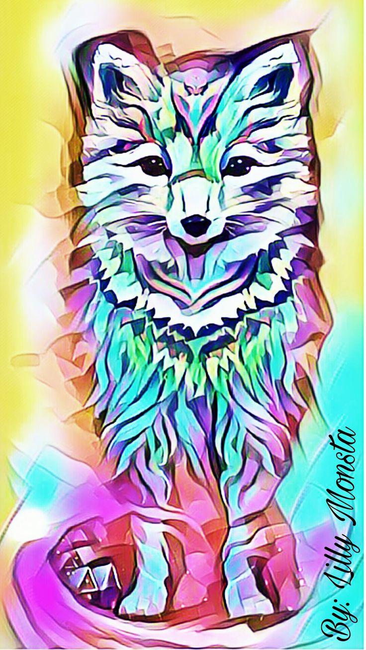 Aztec wolf mobile wallpaper aztec wallpaper