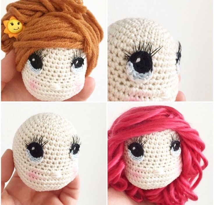 Amigurumi Eyes Michaels : 125 best images about Crochet Doll Pattern on Pinterest ...