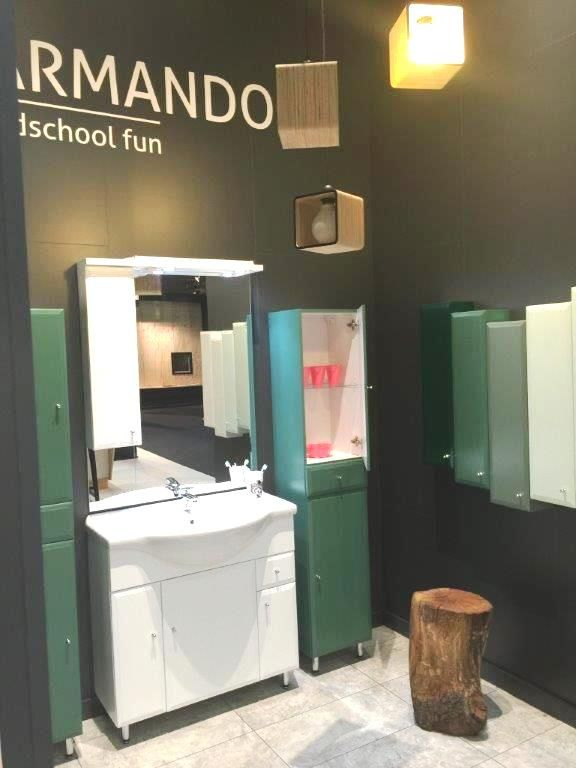 #Armando#stand#bathroom#furniture#IMMCologne#Defra