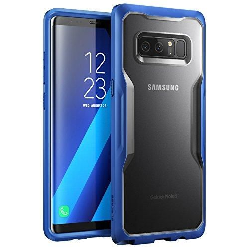 Samsung Galaxy Note 8 Case, SUPCASE Unicorn Beetle Series Premium Hybrid Protective Frost Clear Case for Samsung Galaxy Note 8 2017 Release, Retail Package (Frost/Navy)