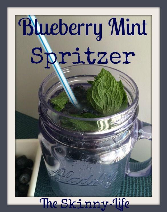 A Berry Minty Spritzer Recipe — Dishmaps