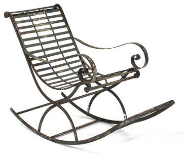 Preston Rocking Chair eclectic-rocking-chairs