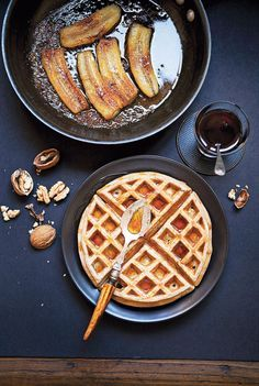 Varias recetas de waffles: Dulces y salados