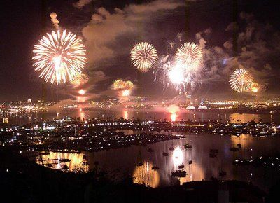 San Diego's Coronado Island Fourth of July Celebration! Lots of memories for this!