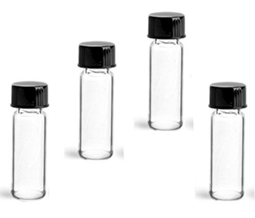 #save These #MagnaKoys® 1 dram flint (clear) glass vials are offered with black phenolic cone lined closures. As always, be sure to test all products with these ...