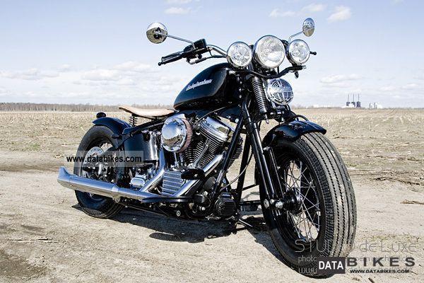 Harley Davidson Bobber Springer Flsts Heritage Motorcycle Chopper
