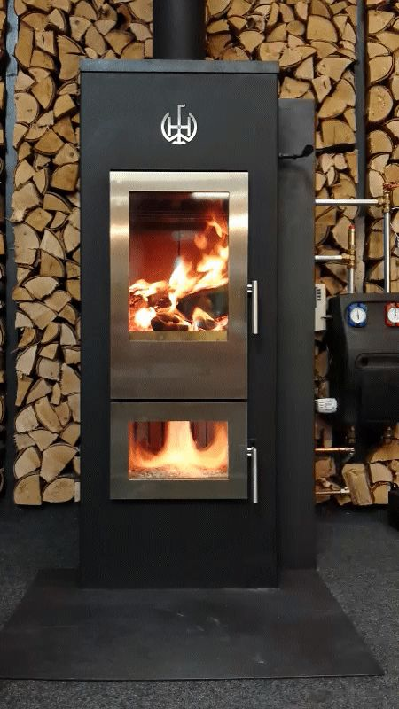 Brandende Walltherm Showroom Eco2all