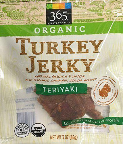 3oz Organic Turkey Jerky Teriyaki by 365 Everyday Value (... https://www.amazon.com/dp/B0199ARXX8/ref=cm_sw_r_pi_dp_x_zgmEzbPZNYNWT
