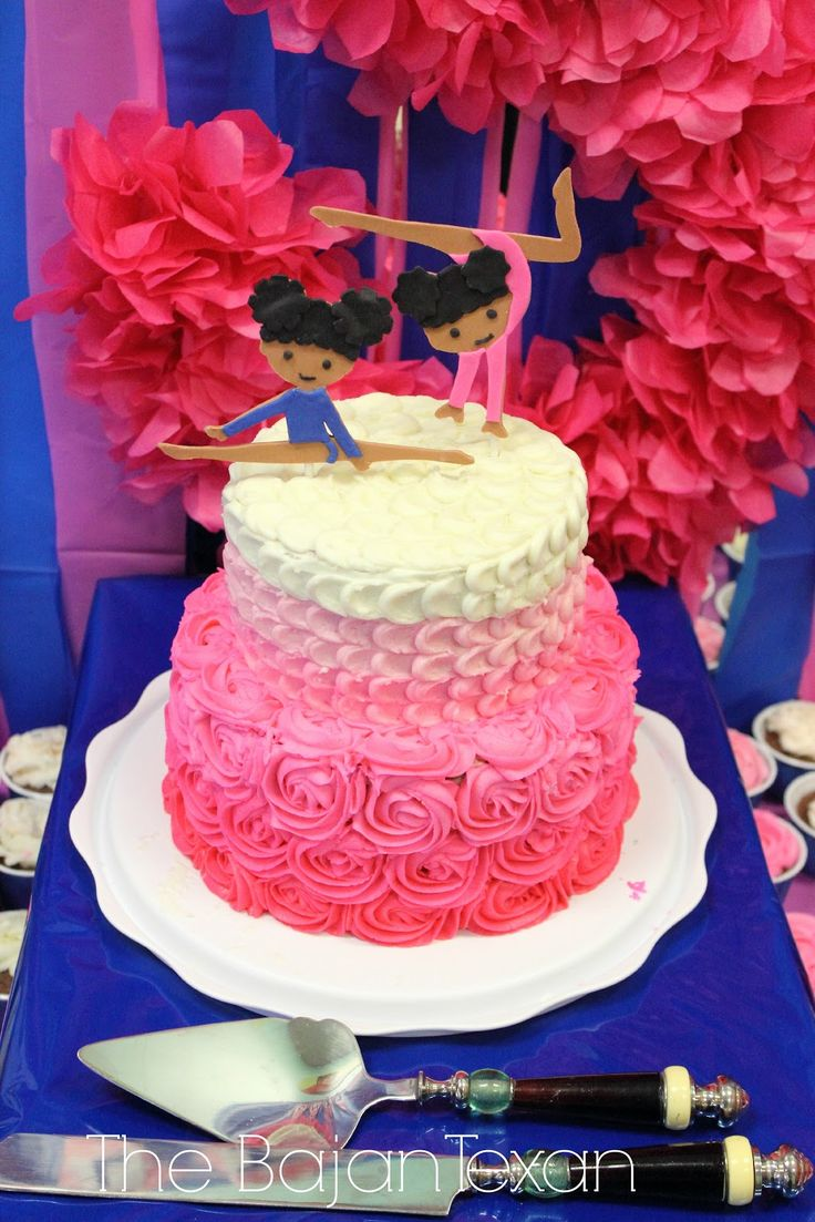 Gymnastics Birthday Party Decorations 1000 Images About Pennys 7th On Pinterest Ballet Ballet