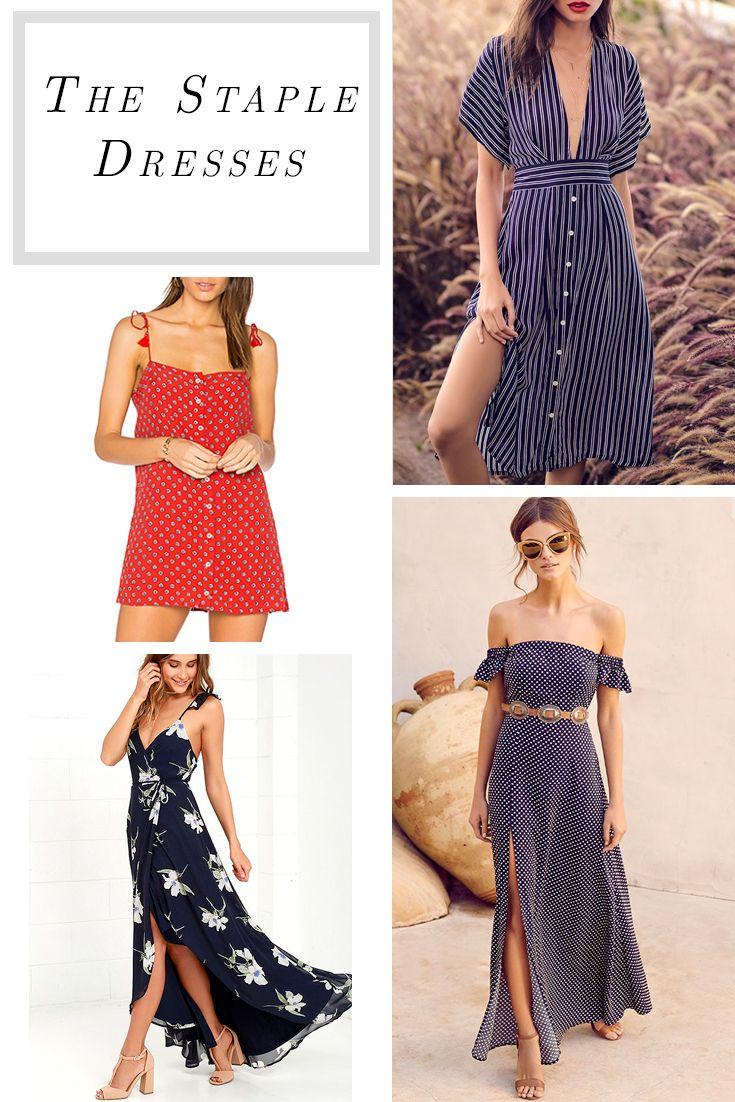 Amazing staple dresses that will turn heads around <3