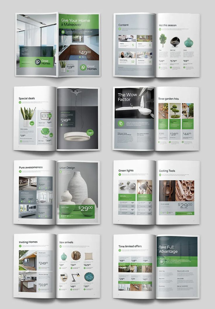 Product Catalog Design Template PDF in 2020 Catalogue