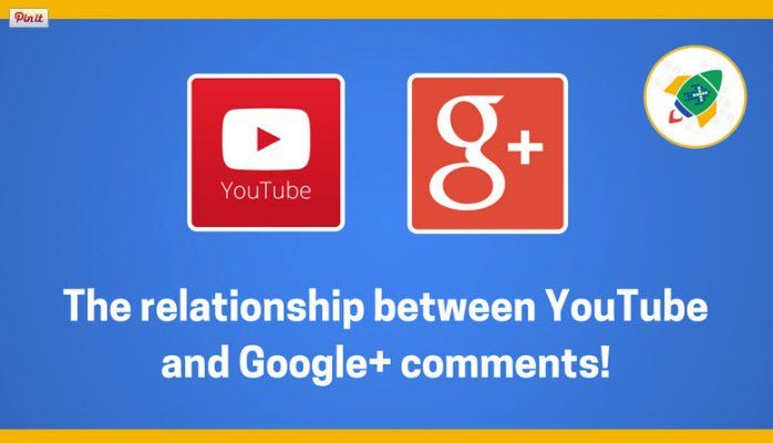 The relationship between YouTube and Google+ comments!