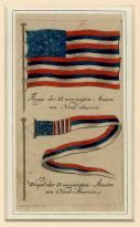 First Published Appearance of the American Flag, 1783 - Price Estimate: $900 - $1200