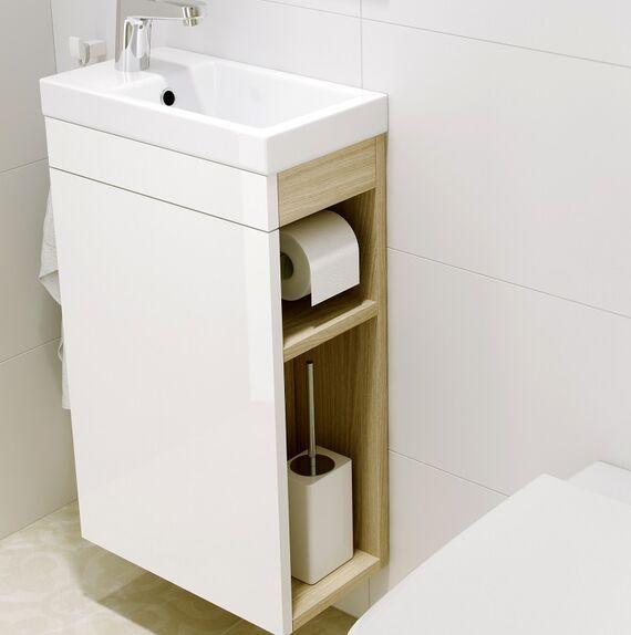Meuble Lave Mains Design Smarty De Finition Brillante En 2020 Meuble Lave Main Meuble Lave Main Wc Lave Main Wc